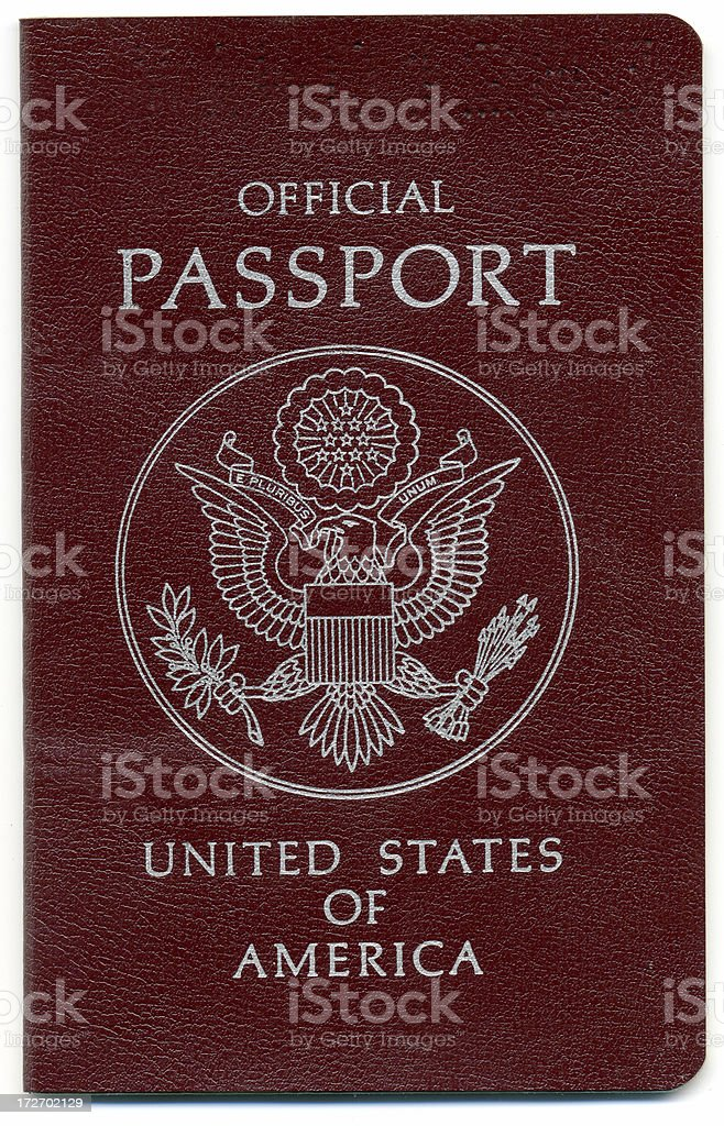 Passport Official royalty-free stock photo