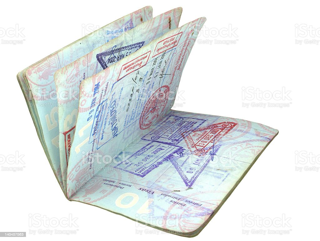 passport stock photo