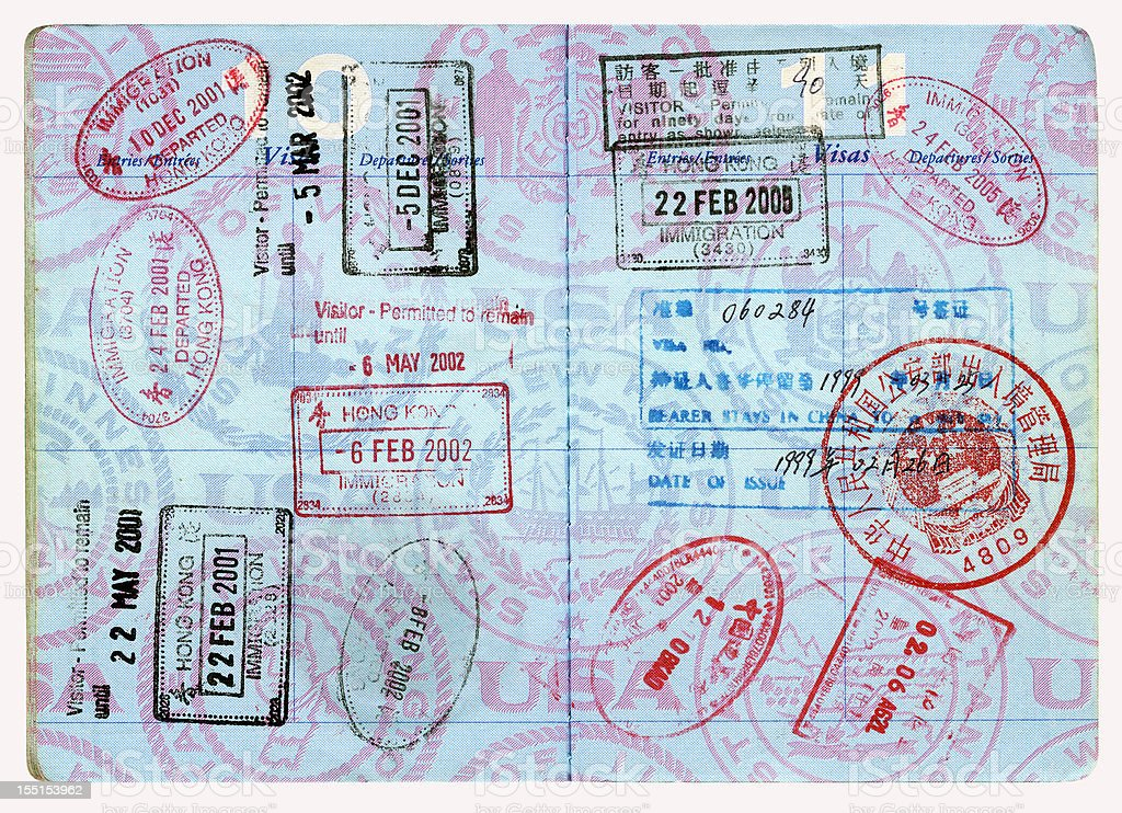 US Passport royalty-free stock photo