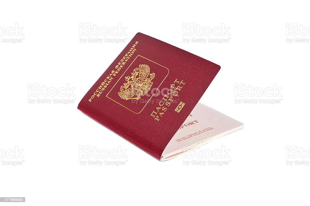 Passport royalty-free stock photo
