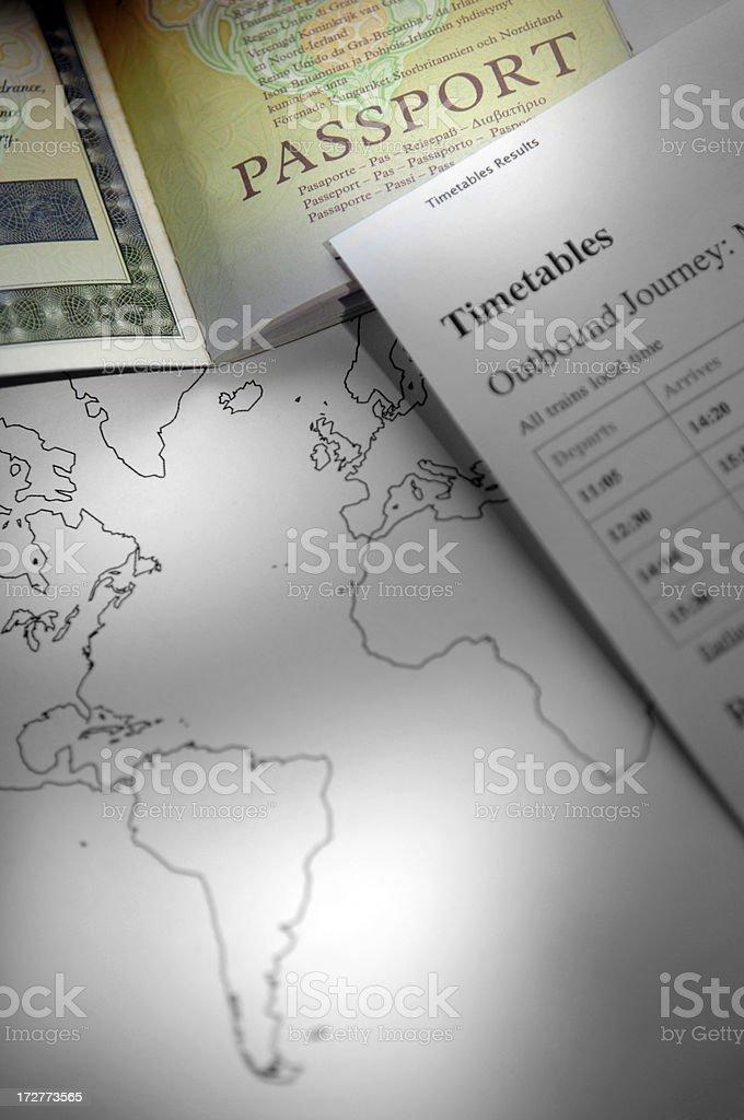 passport series royalty-free stock photo
