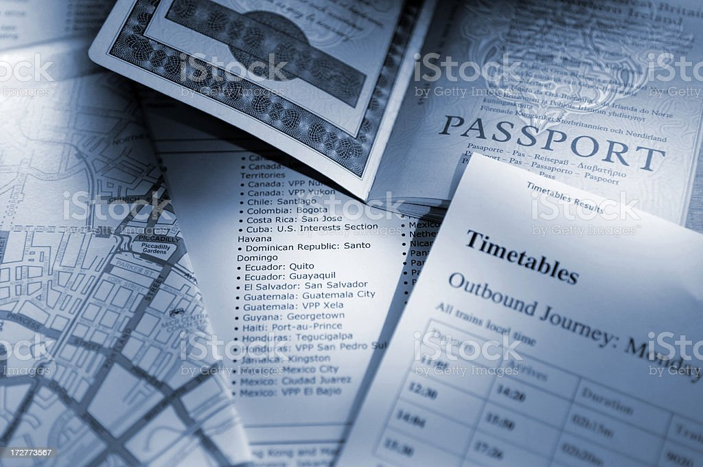 passport series royalty-free stock photo
