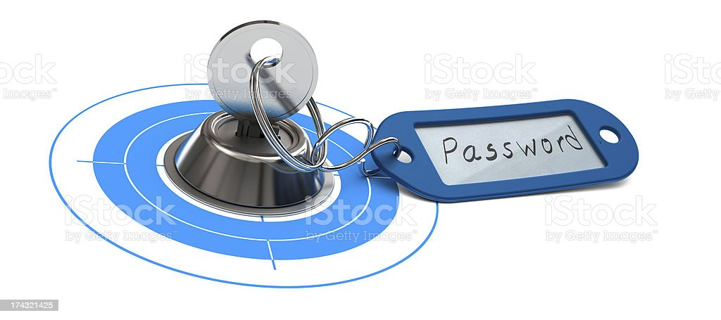 Password Access, Internet Security, Secured Web stock photo