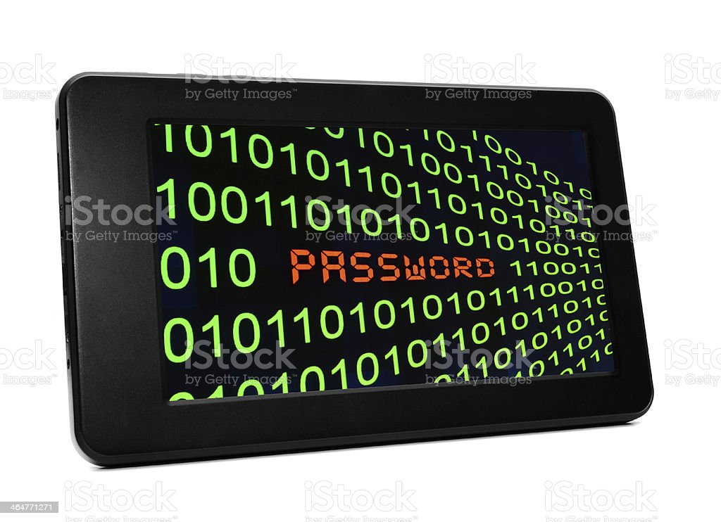 Password concept royalty-free stock photo
