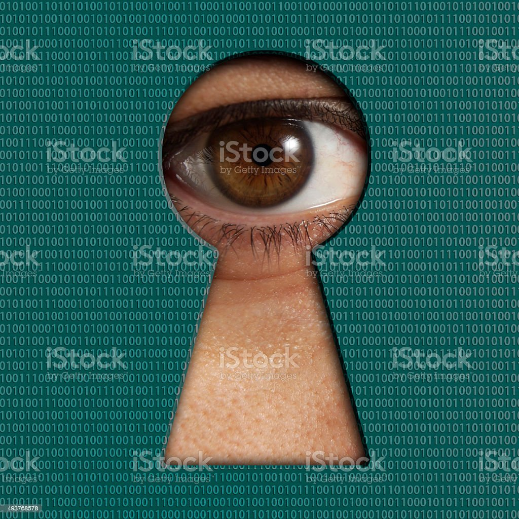 Password concept stock photo