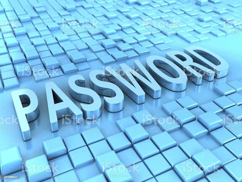 Password royalty-free stock photo
