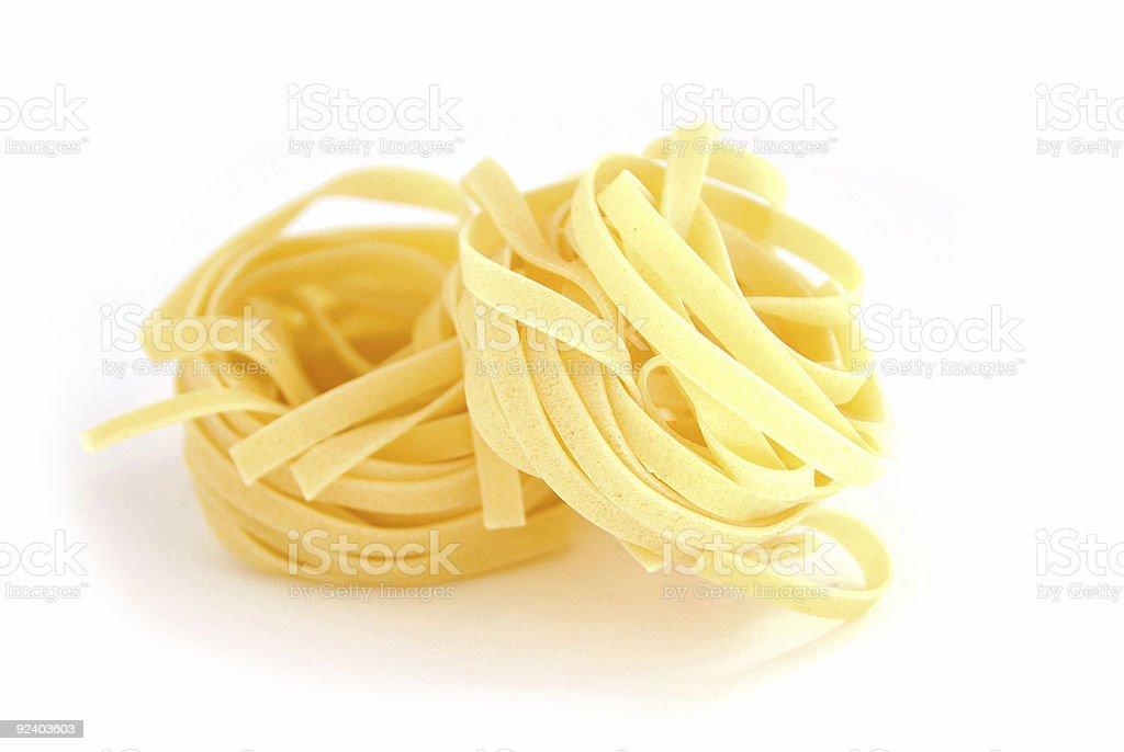 Pasta close royalty-free stock photo