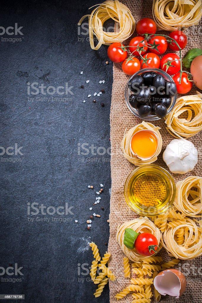 Pasta concept stock photo