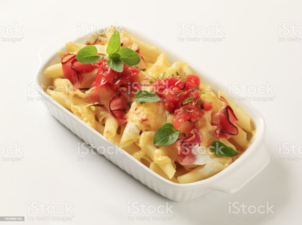 Pasta dish royalty-free stock photo