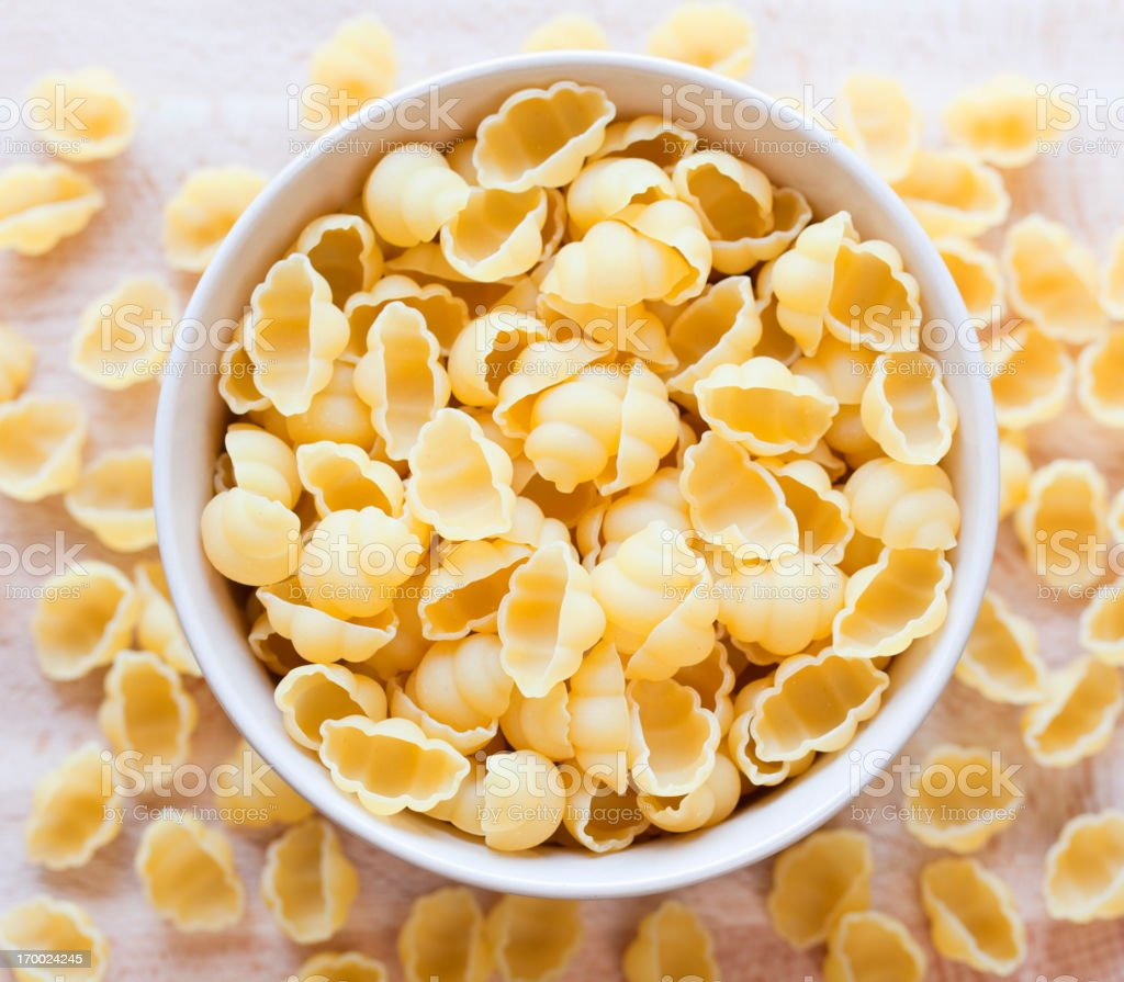 Gnocchi pasta stock photo