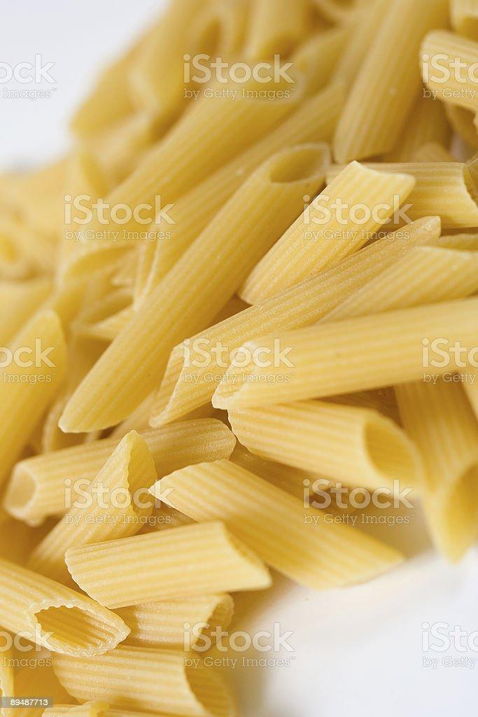 Pasta! Italian way into healthy lifestyle royalty-free stock photo