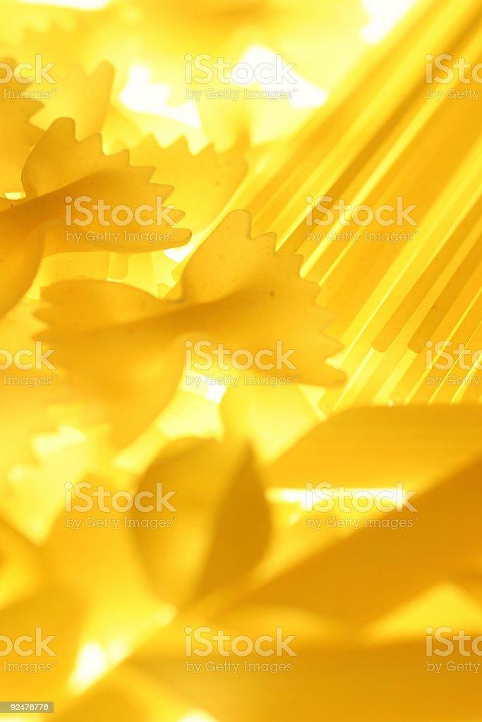 Pasta - Mixed royalty-free stock photo
