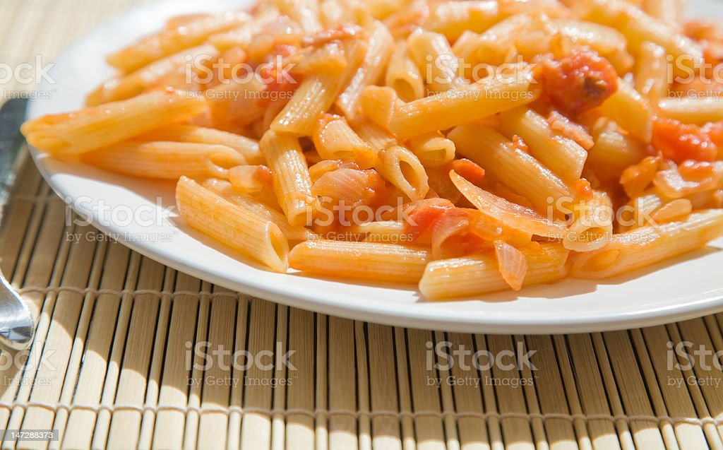 pasta  outside royalty-free stock photo
