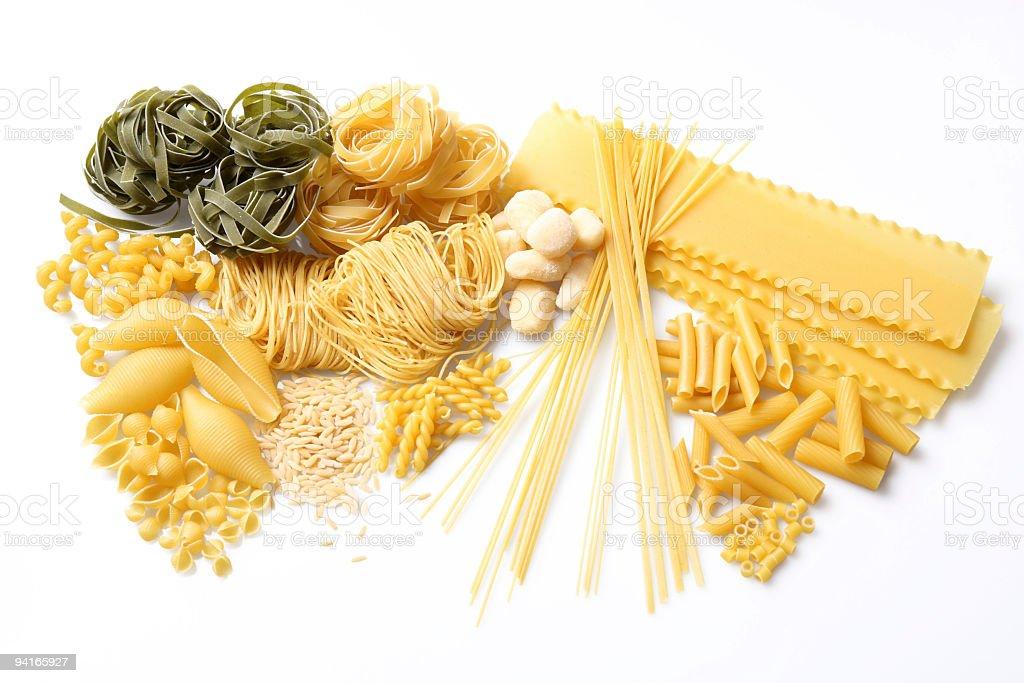 Pasta Party royalty-free stock photo