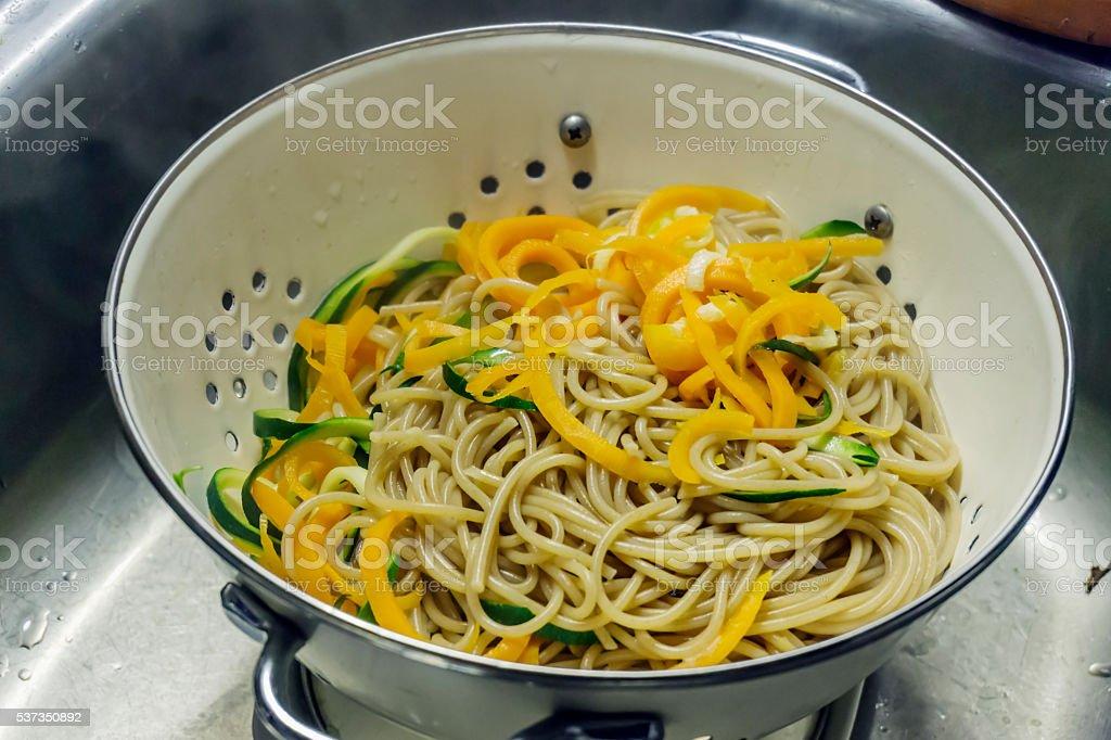 Pasta stock photo