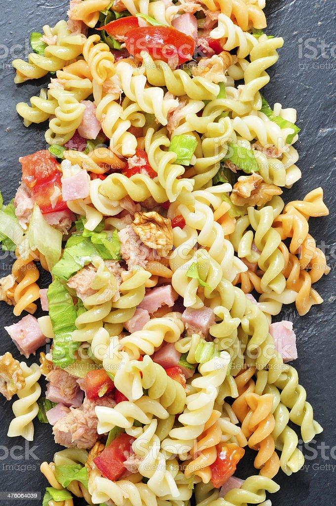 pasta salad royalty-free stock photo