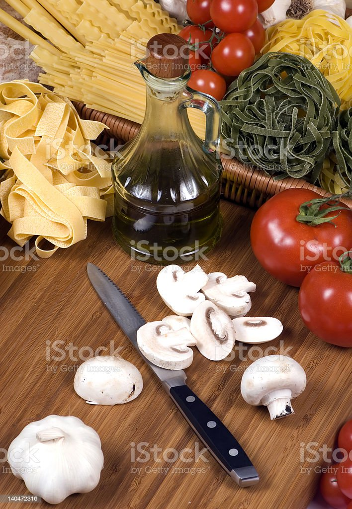 Pasta Series royalty-free stock photo