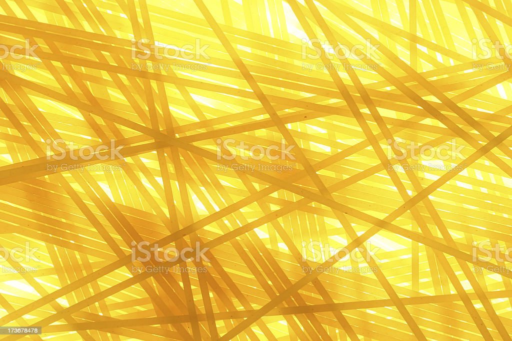 Pasta - Spaghetti (Cross) royalty-free stock photo