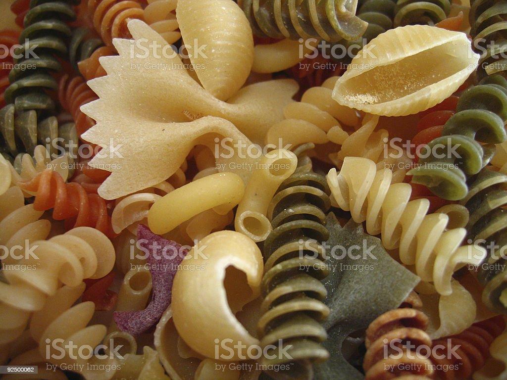 Pasta Texture stock photo