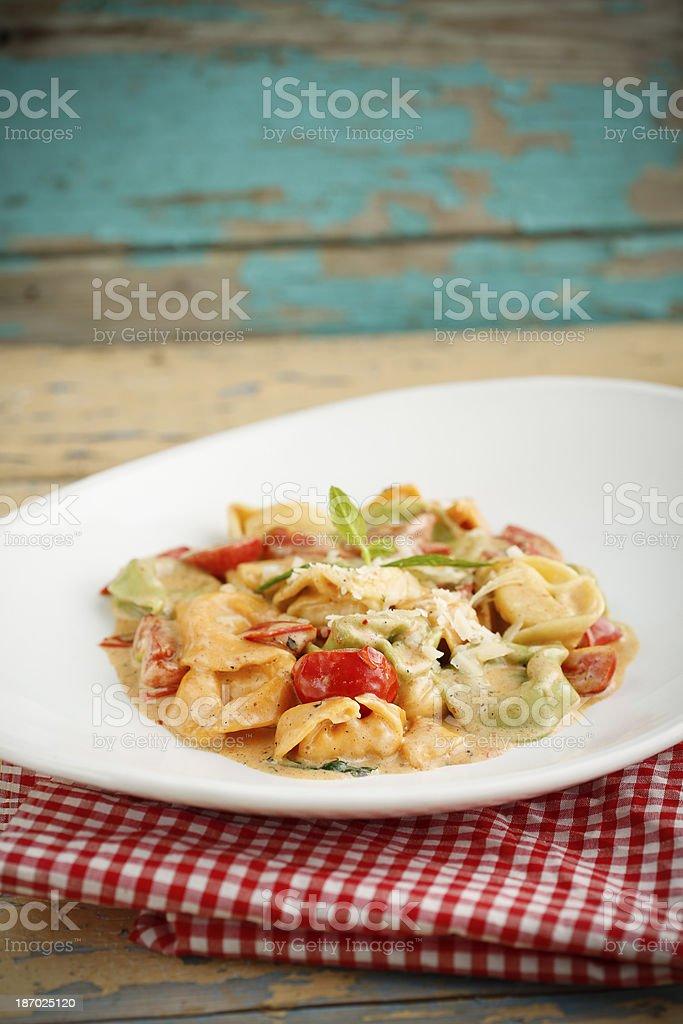 Pasta Tortellini royalty-free stock photo