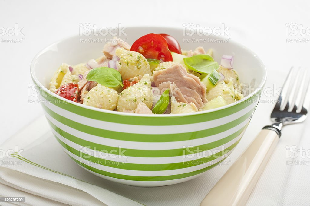 Pasta Tuna Salad royalty-free stock photo
