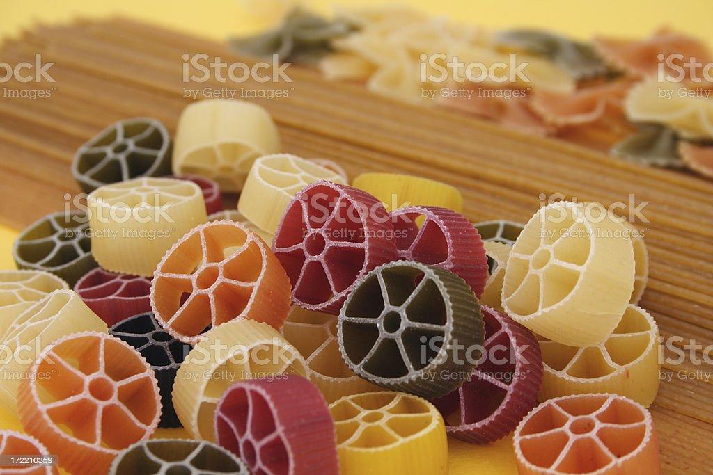 Pasta variety stock photo