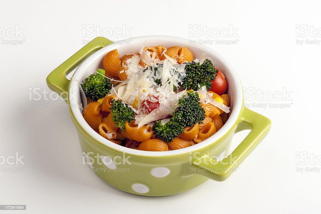 Pasta with Broccoli royalty-free stock photo