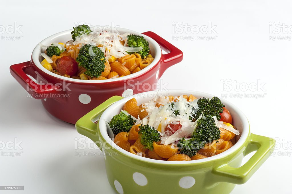Pasta with Broccoli royalty-free stock photo