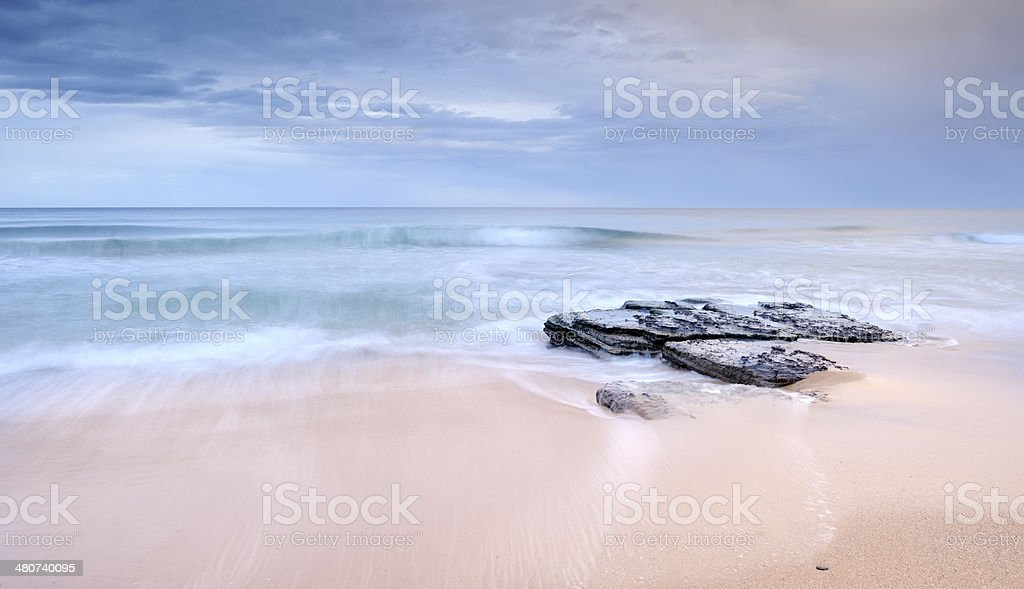 Pastel Beach royalty-free stock photo