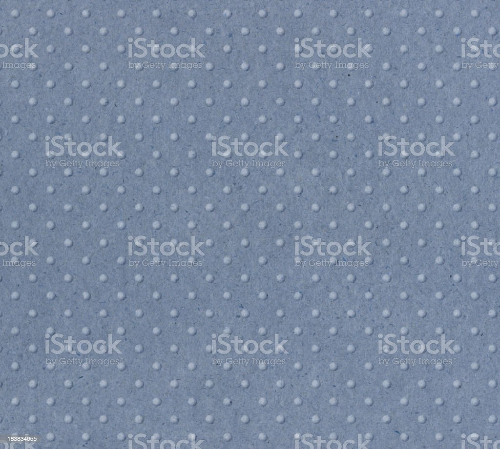 pastel blue paper with raised dots royalty-free stock photo