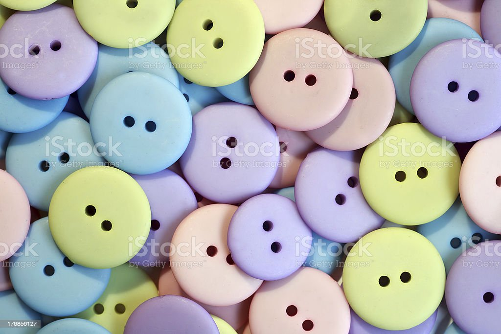 Pastel Buttons royalty-free stock photo