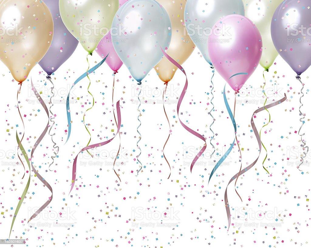 Pastel Celebration stock photo