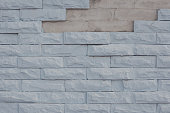pastel colored brick wall background