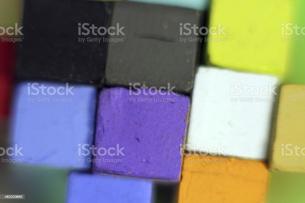 Pastel colors royalty-free stock photo