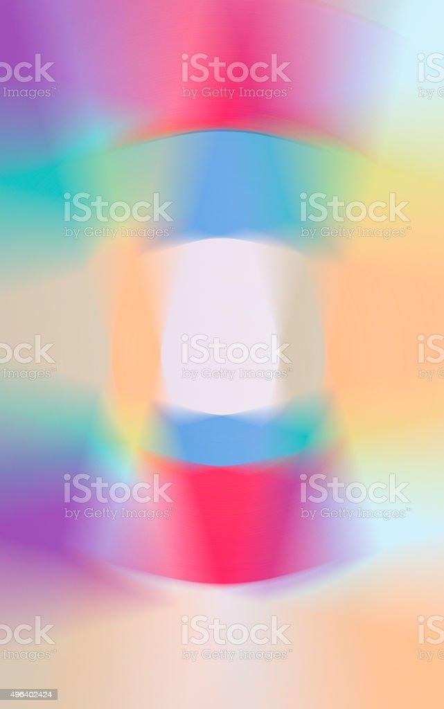 Pastel coloured geometrical background stock photo