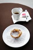 pastel de nata famous portuguese sweet egg custard pastry tart