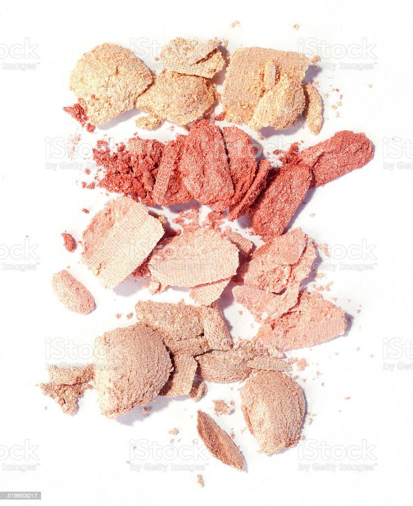 pastel eyeshadow stock photo