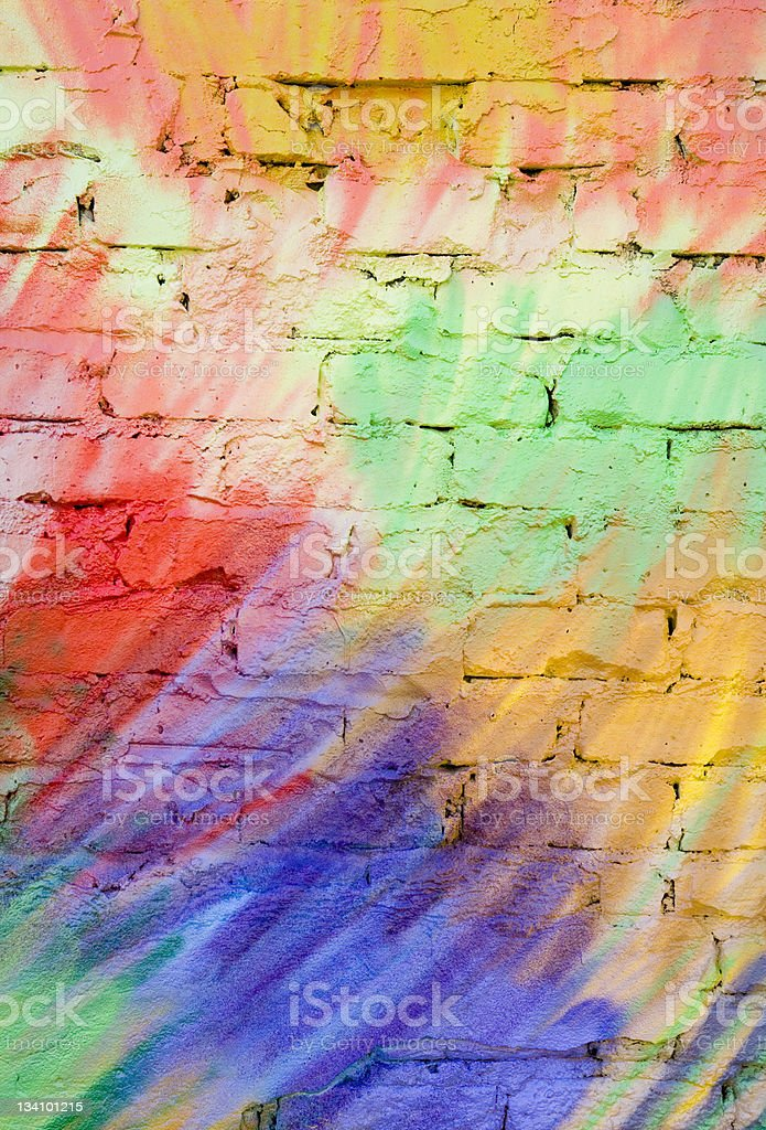 Pastel graffiti background (XLarge) royalty-free stock photo