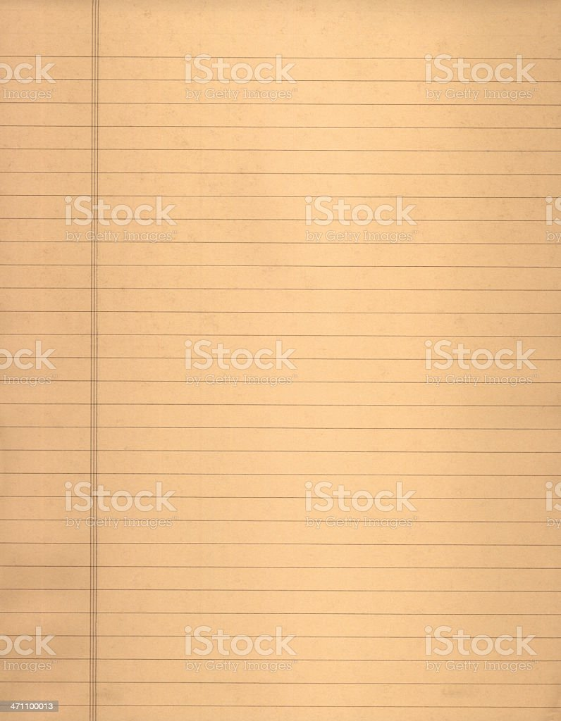 Pastel lined paper royalty-free stock photo