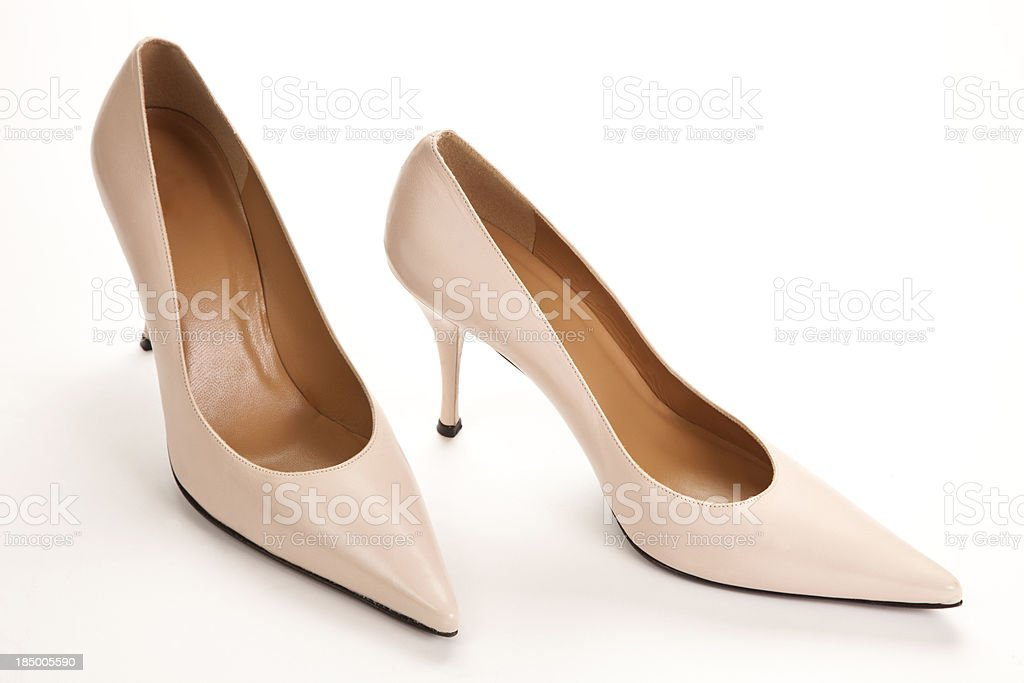 Pastel Pink High Heel Pumps stock photo 185005590 | iStock