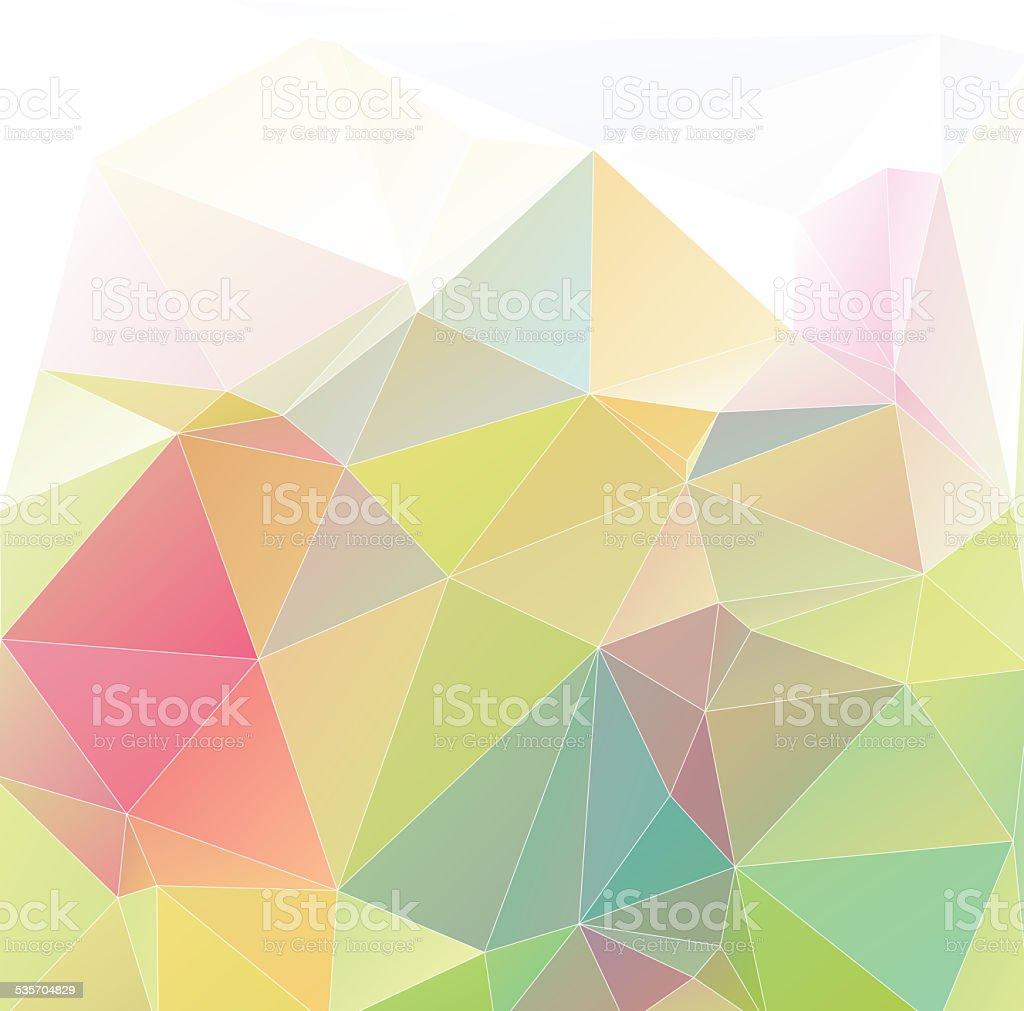 Pastel Polygon Geometric stock photo
