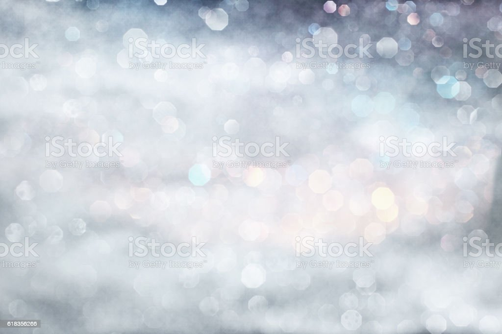 Pastel silver winter stock photo