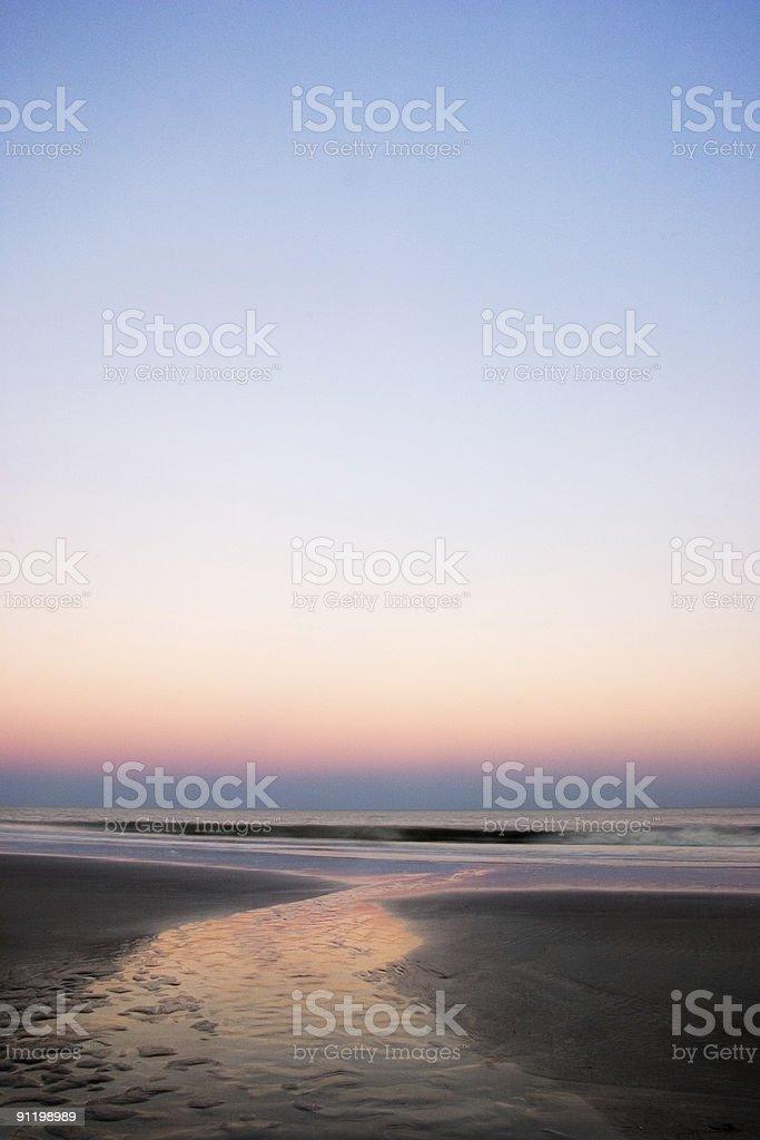 Pastel Sunrise royalty-free stock photo