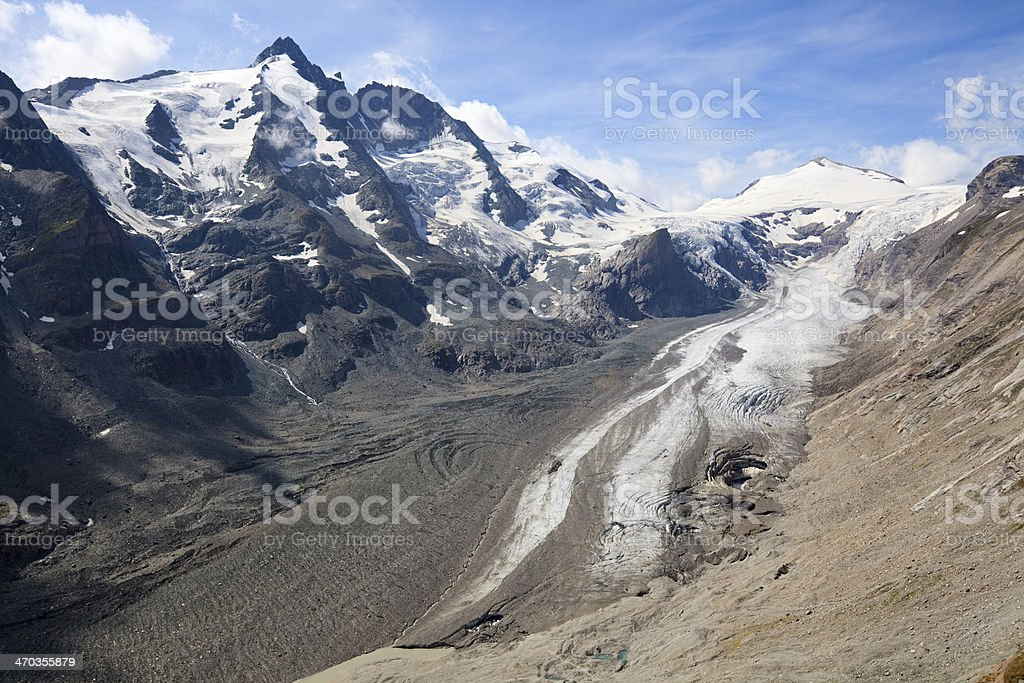 Pasterze Glacier, Austria royalty-free stock photo