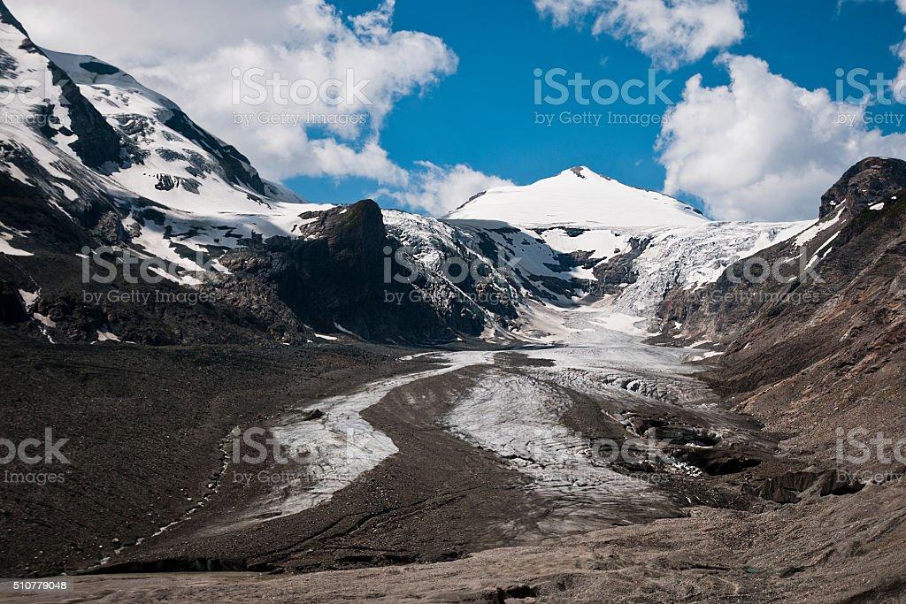 Pasterze glacier in Austria stock photo