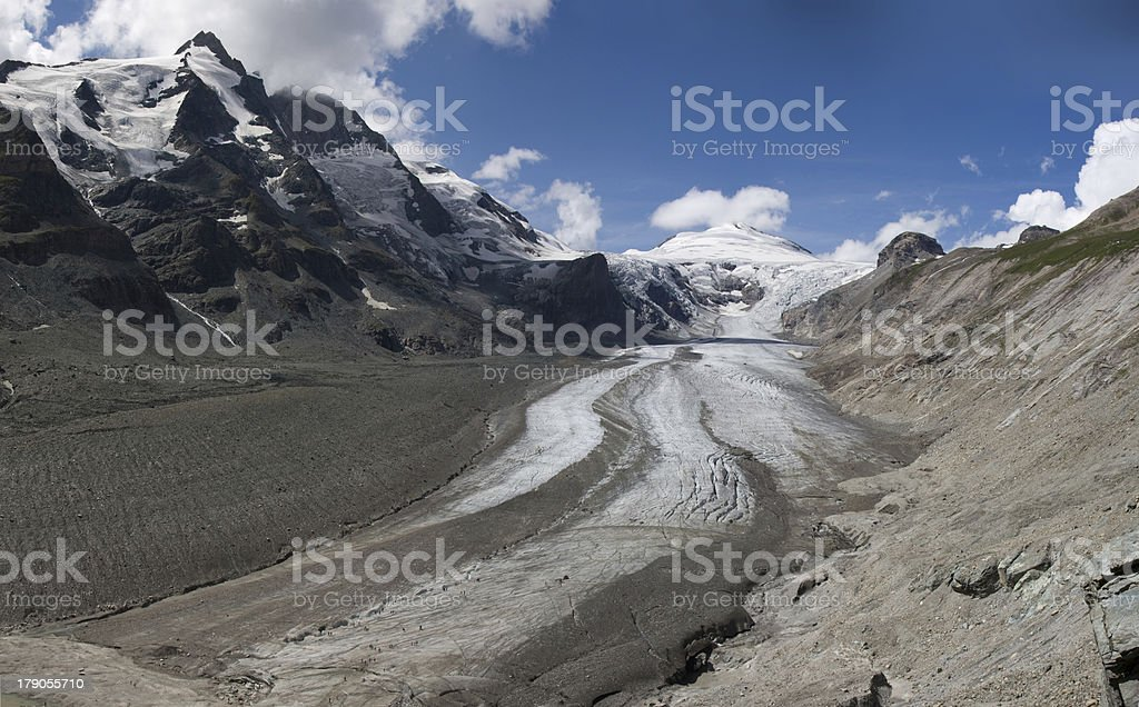 Pasterze glacier (National Park Hohe Tauern, Austria) stock photo