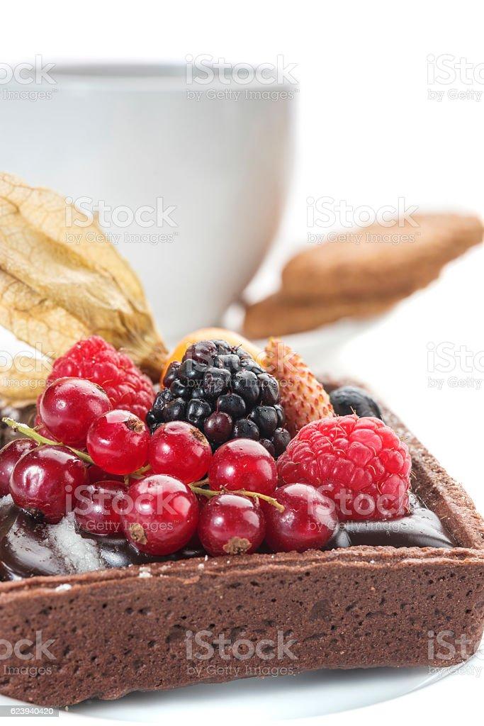 Pasticcini e colazione stock photo