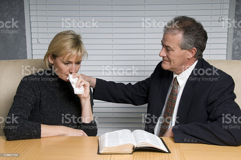 Pastor's Consolation royalty-free stock photo
