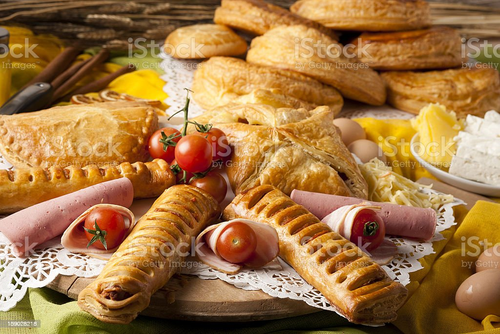 Pastries royalty-free stock photo