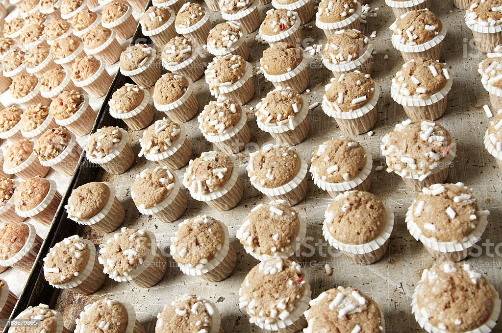 pastries with sugar grains royalty-free stock photo